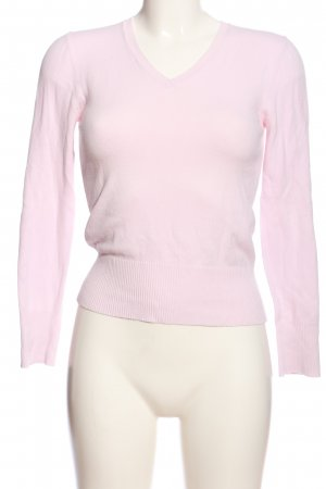 Street One V-Neck Sweater pink casual look