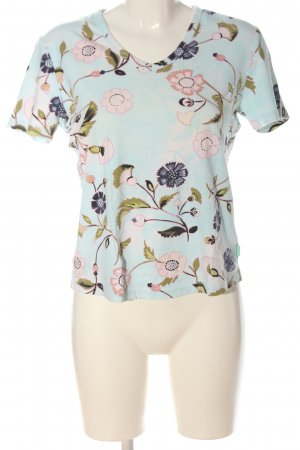 Street One V-Neck Shirt flower pattern casual look