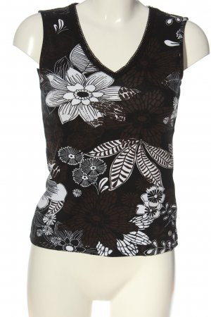 Street One V-Neck Shirt allover print casual look