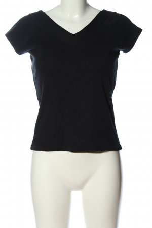 Street One V-Neck Shirt black casual look