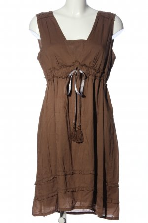 Street One Empire Dress brown casual look
