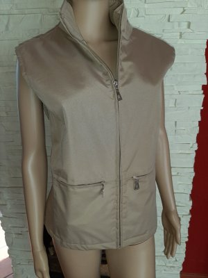 Street One Quilted Gilet sand brown polyester