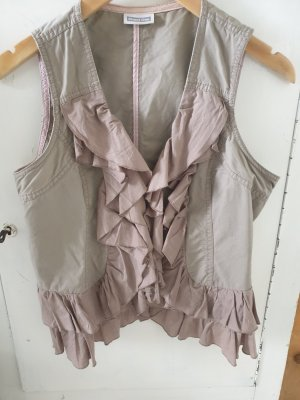 Street One Fringed Vest multicolored