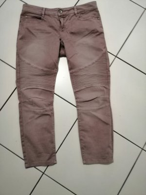 Street One 7/8 Length Trousers dusky pink cotton
