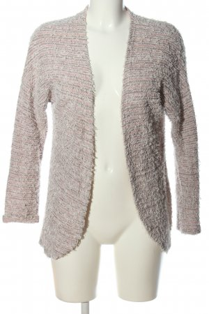 Street One Strick Cardigan creme-pink meliert Casual-Look