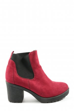 Street Shoes Stivaletto rosso stile casual