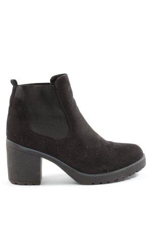 Street Shoes Sztyblety czarny W stylu casual