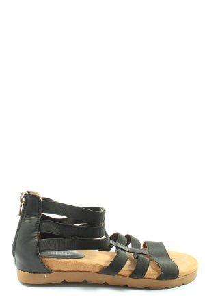 Street Shoes Wygodne sandały czarny W stylu casual