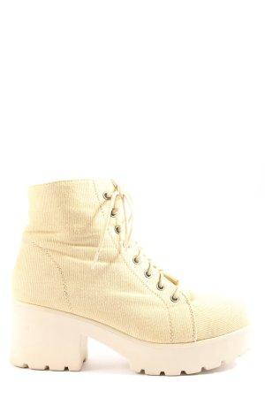 Street Shoes Plateau-Stiefeletten
