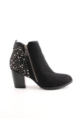 Street Super Shoes Stivaletto nero stile casual