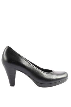 Street Super Shoes Hochfront-Pumps schwarz Casual-Look