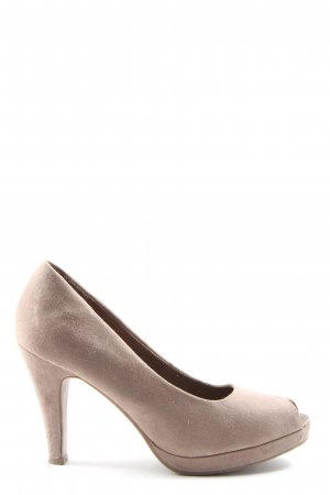 Street Super Shoes Peeptoe Pumps pink Casual-Look