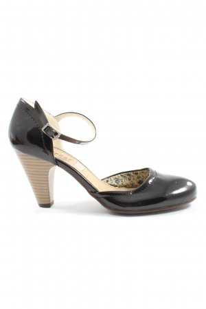 Street Super Shoes Riemchenpumps schwarz Casual-Look