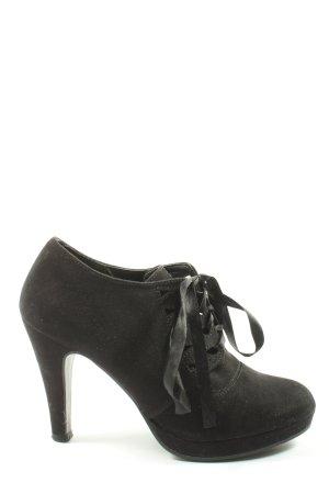 Street Super Shoes Lace-up Pumps black casual look
