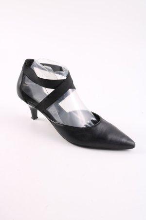 Street Super Shoes Spitz-Pumps schwarz Business-Look