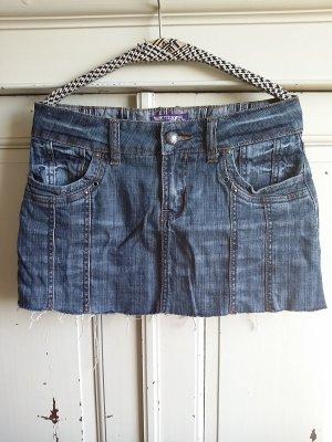 Street One Mini rok blauw Katoen
