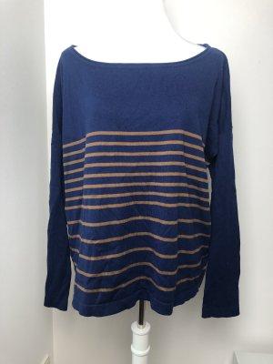 Streifen Pullover oversize Größe M