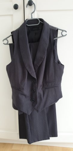Vero Moda Pinstripe Suit grey