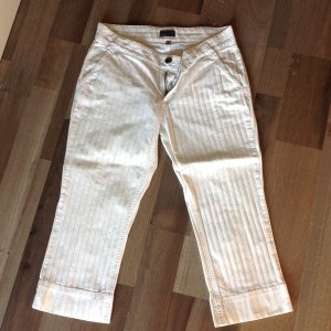 Mexx Pantalone Capri bianco-nero