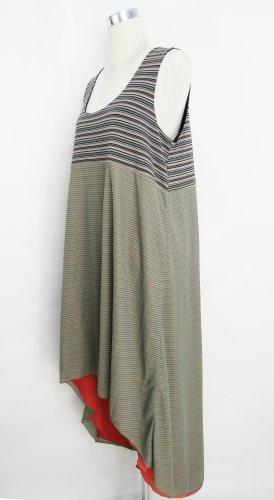 Streifenkleid Gr. M Sommerkleid Vokuhila-Kleid