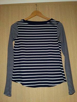 Atmosphere Stripe Shirt white-dark blue