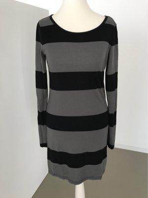 Vero Moda Camicia lunga nero-grigio scuro Cotone