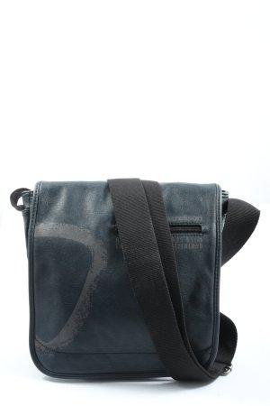 strellson Borsa college blu-grigio chiaro Stampa a tema stile casual