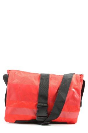 strellson Torba z klapą czerwony-czarny W stylu casual