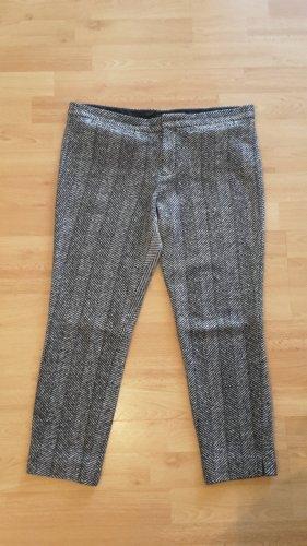 Strenesse 7/8 Length Trousers black-light grey mixture fibre