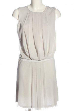 Strenesse A-Linien Kleid hellgrau Casual-Look