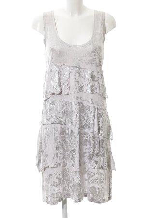 Strenesse A-Linien Kleid silberfarben-grau Casual-Look