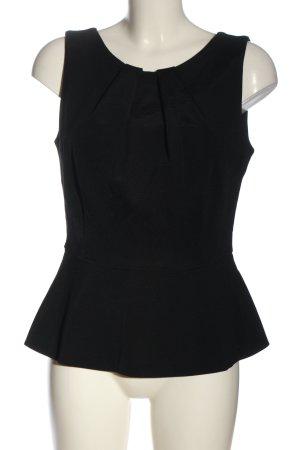 Strenesse Blusa sin mangas negro estilo «business»
