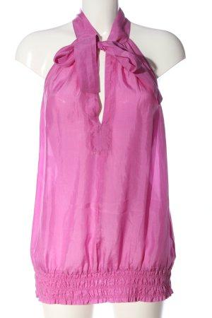 Strenesse ärmellose Bluse pink Elegant