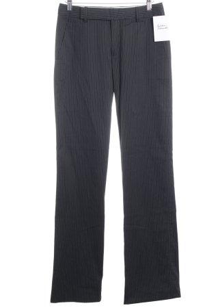 Strenesse Anzughose dunkelblau-weiß Business-Look