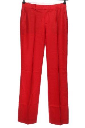 Strenesse Spodnie garniturowe czerwony Wełna