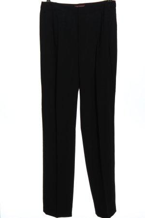 Strenesse Pantalon «Baggy» noir style d'affaires