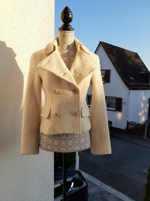 Strenesse Giacca di lana bianco sporco
