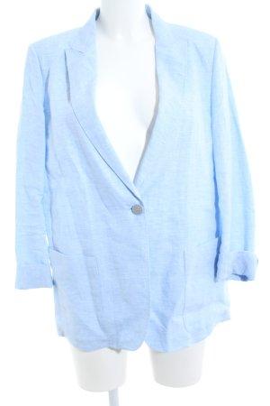 Strenesse Short Blazer blue-cornflower blue linen