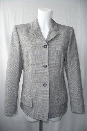 Strenesse Wollen blazer grijs-zilver Scheerwol