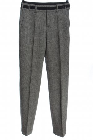 Strenesse Blue Suit Trouser light grey weave pattern business style