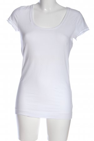 Strenesse Blue Basic Top weiß Casual-Look