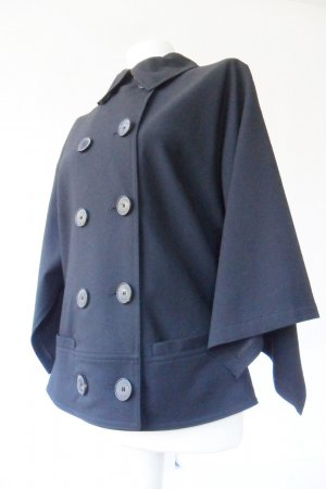 Strenesse blue Blazer Jacke Fledermausärmel schwarz 40 42 extravagant Topzustand
