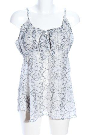 Strenesse Blue Blusa bianco-grigio chiaro stampa integrale stile casual