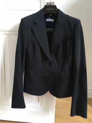 Strenesse Blue Klassischer Blazer black polyester