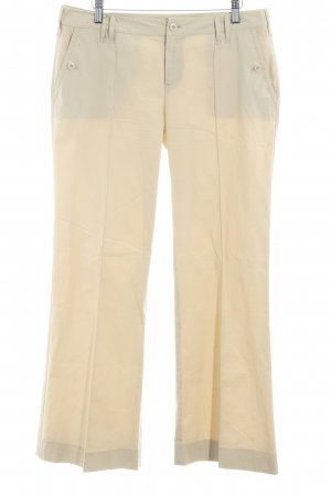 Strenesse Blue Chinohose creme Casual-Look