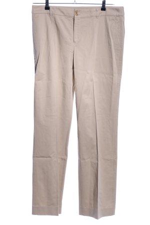 Strenesse Blue Pantalon chinos blanc cassé style décontracté