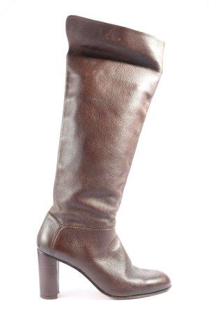 Strenesse Blue High Heel Stiefel braun Casual-Look