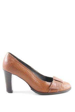 Strenesse Blue High Heels rostrot schlichter Stil
