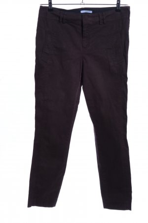 Strenesse Blue Hoge taille broek bruin casual uitstraling