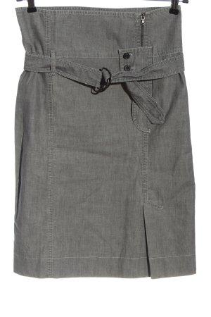 Strenesse Blue Denim Skirt light grey flecked casual look